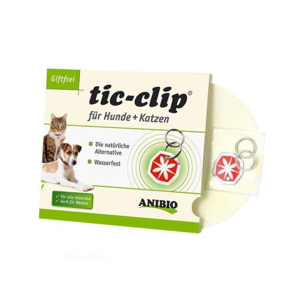 Tic-clip ciondolo antipulci